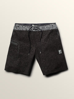 Plasm Plus Mod Boardshorts In Black, Second Alternate View