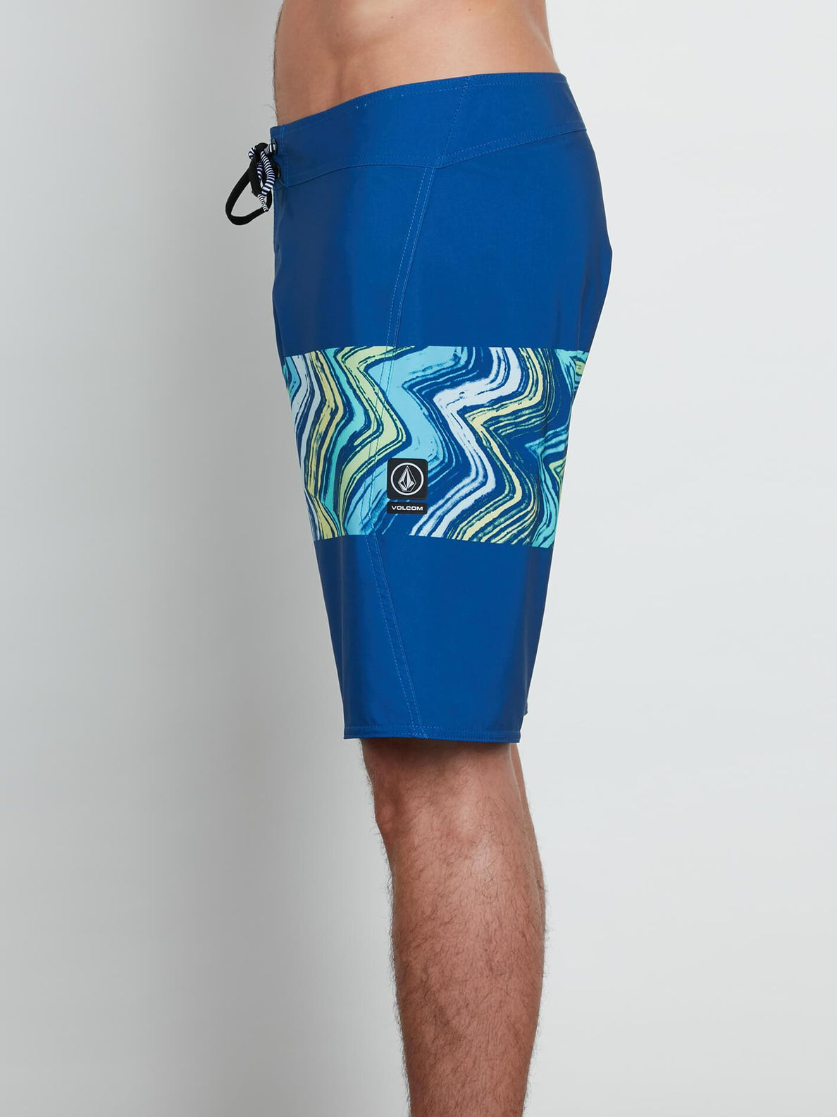 Macaw Mod Boardshorts In Camper Blue, Alternate View