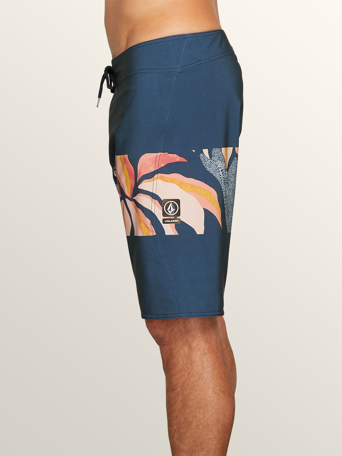 Macaw Mod Boardshorts In Melindigo, Alternate View