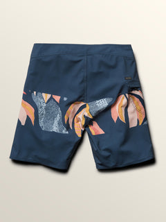 Macaw Mod Boardshorts In Melindigo, Fourth Alternate View
