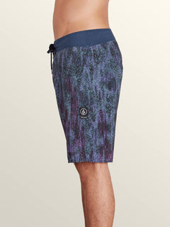 Plasm Mod Boardshorts In Indigo, Alternate View