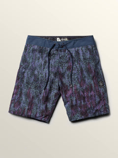 Plasm Mod Boardshorts In Indigo, Second Alternate View