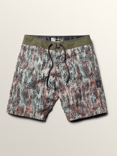 Plasm Mod Boardshorts In Snow Military, Second Alternate View