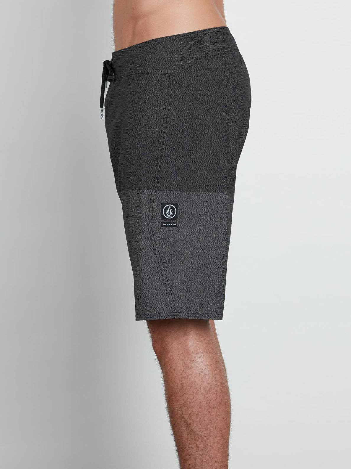 Lido Heather Mod Boardshorts In Black, Alternate View