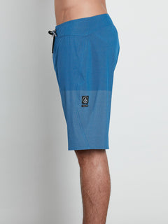 Lido Heather Mod Boardshorts In Camper Blue, Alternate View