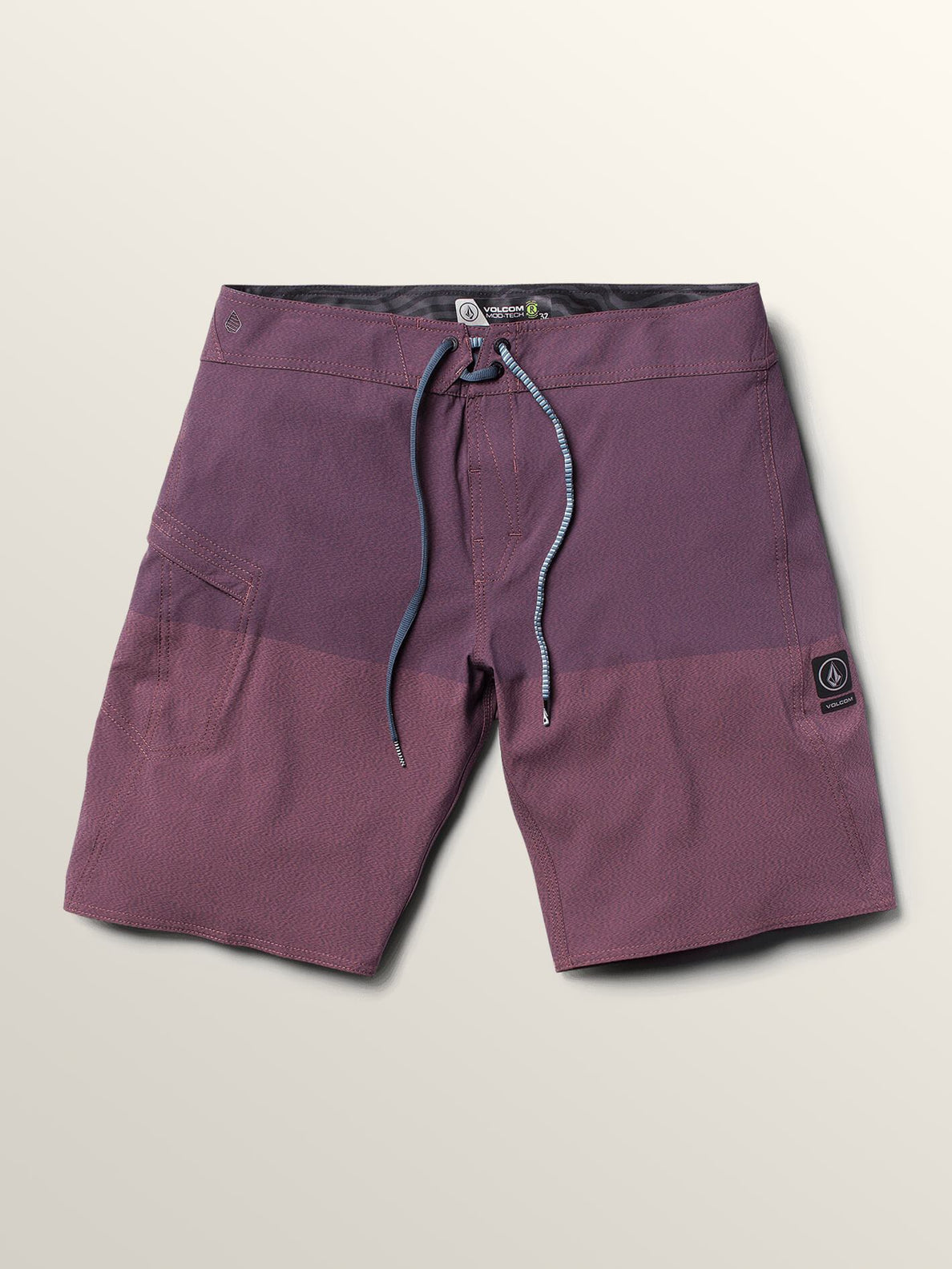 Lido Heather Mod Boardshorts In Deep Blue, Second Alternate View