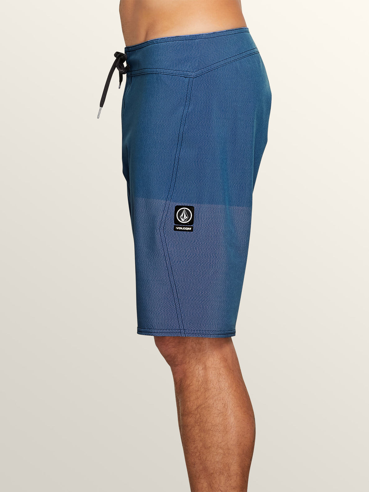 Lido Heather Mod Boardshorts In Jasper Blue, Alternate View