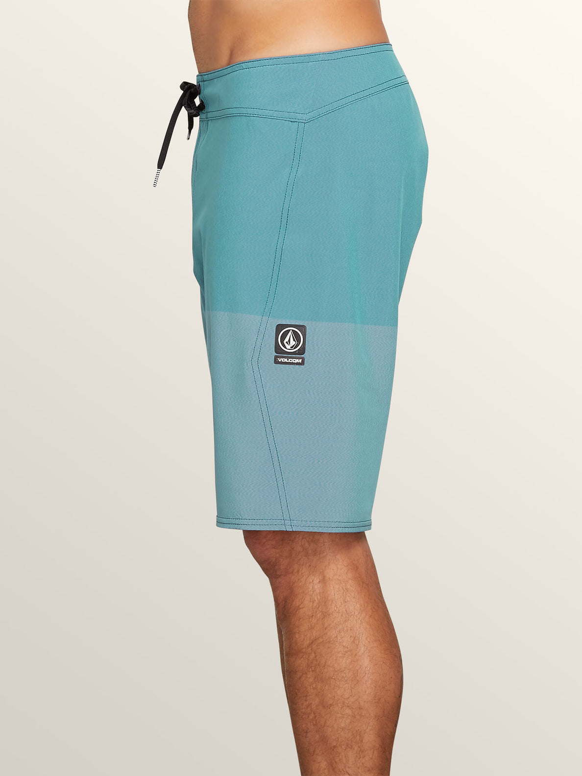 Lido Heather Mod Boardshorts In Neon Blue, Alternate View