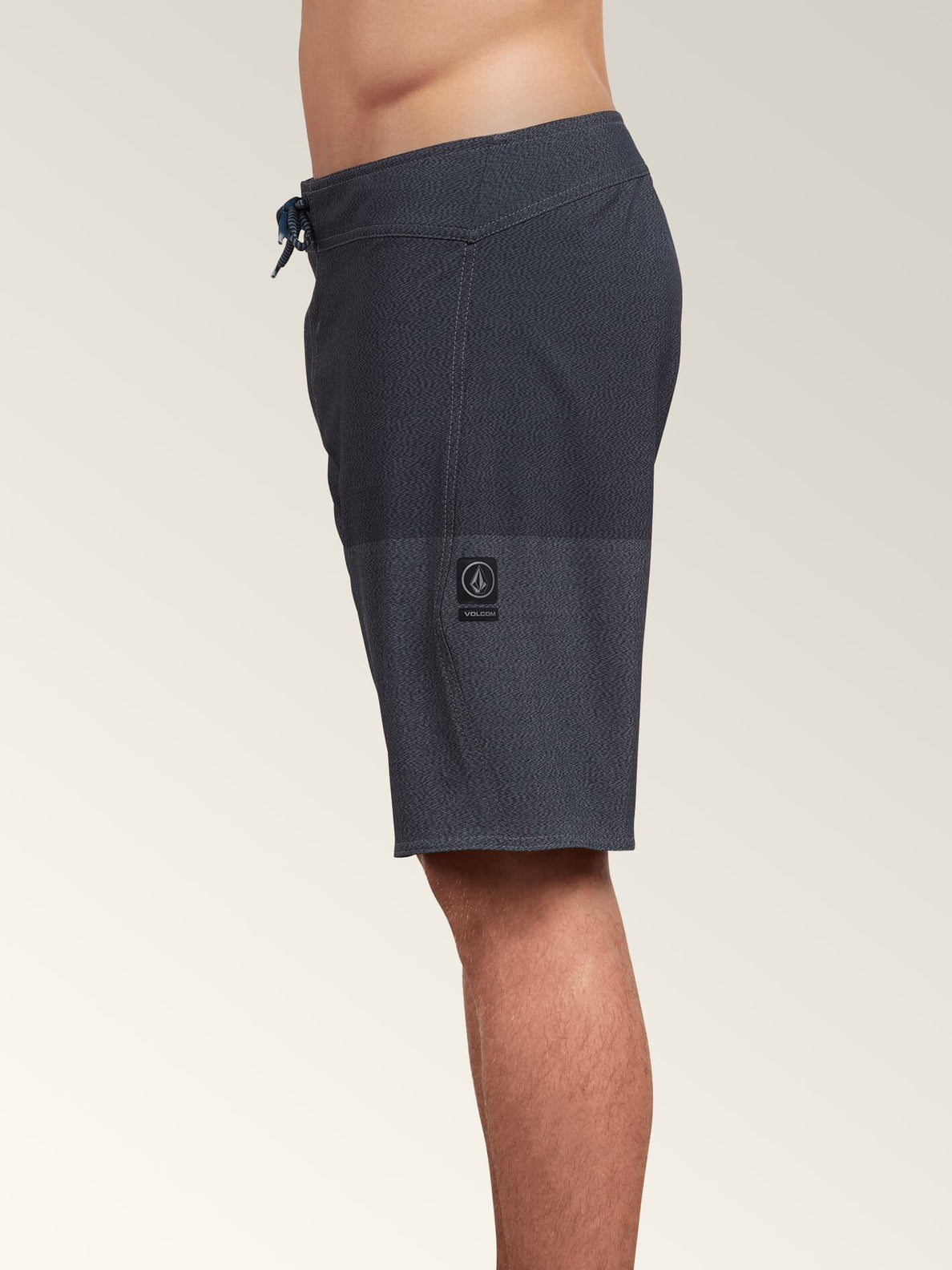 Lido Heather Mod Boardshorts In Smokey Blue, Alternate View