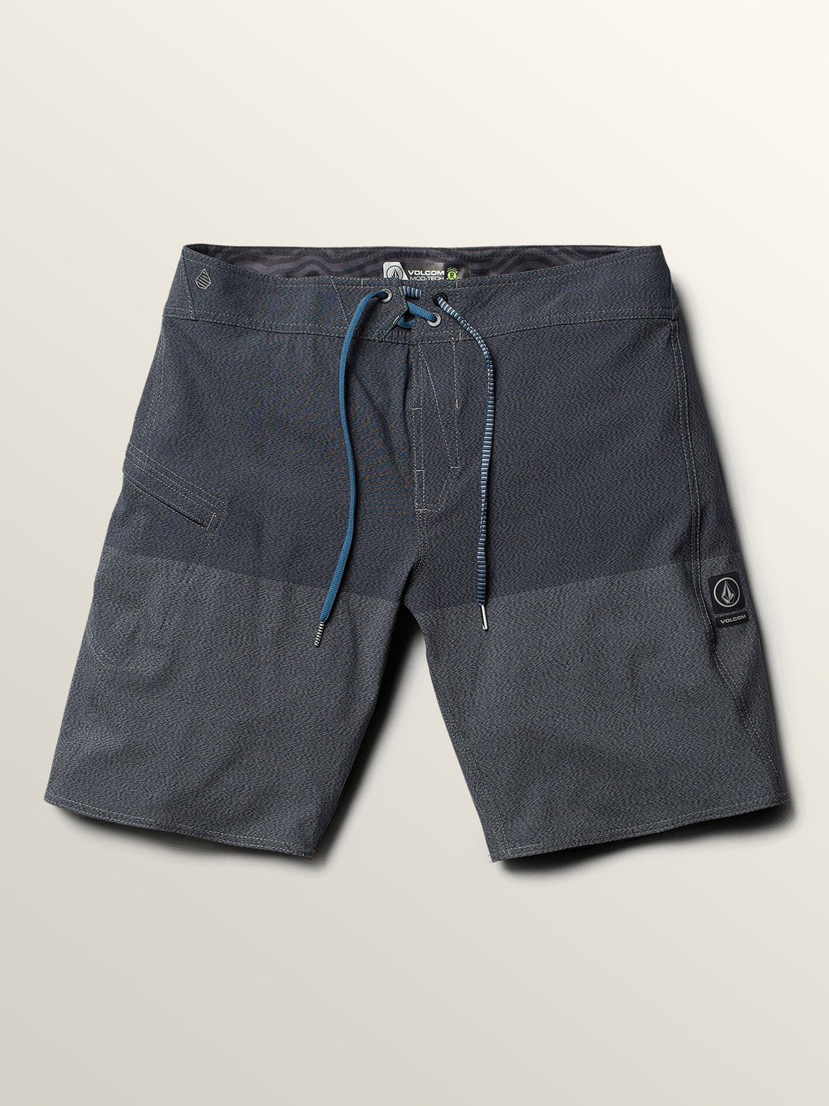 Lido Heather Mod Boardshorts In Smokey Blue, Second Alternate View