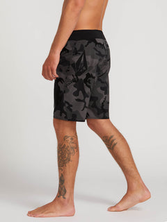 Stone Mod Boardshorts In Blackout, Alternate View