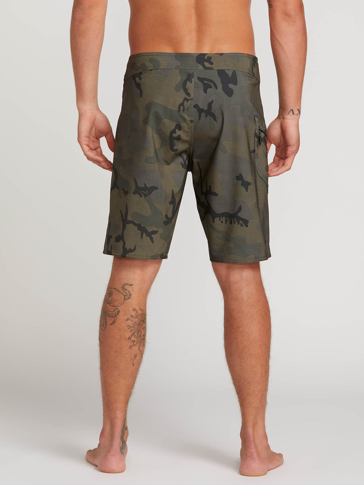 Lido Solid Mod Trunks - Camouflage (A0811926_CAM) [2]