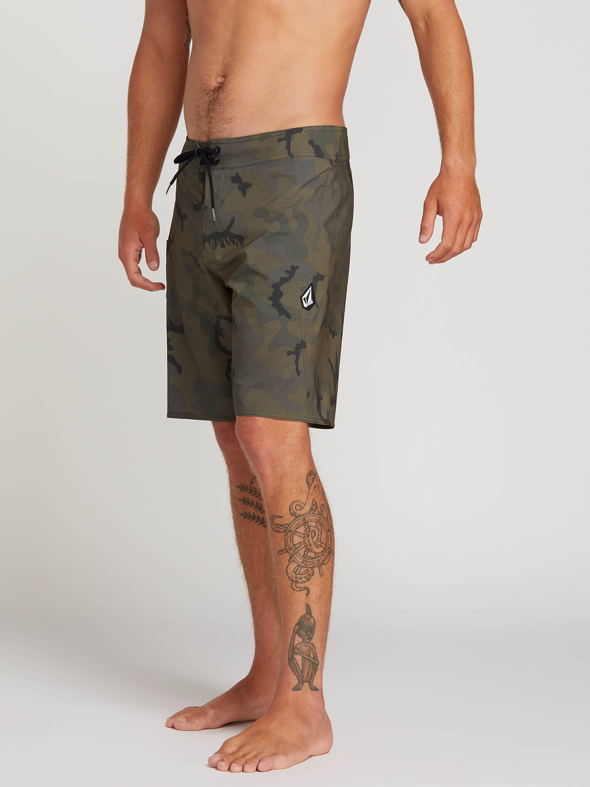 Lido Solid Mod Trunks - Camouflage (A0811926_CAM) [3]