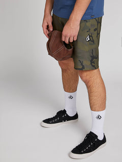 Lido Solid Mod Boardshorts - Camouflage (A0811926_CAM) [5]