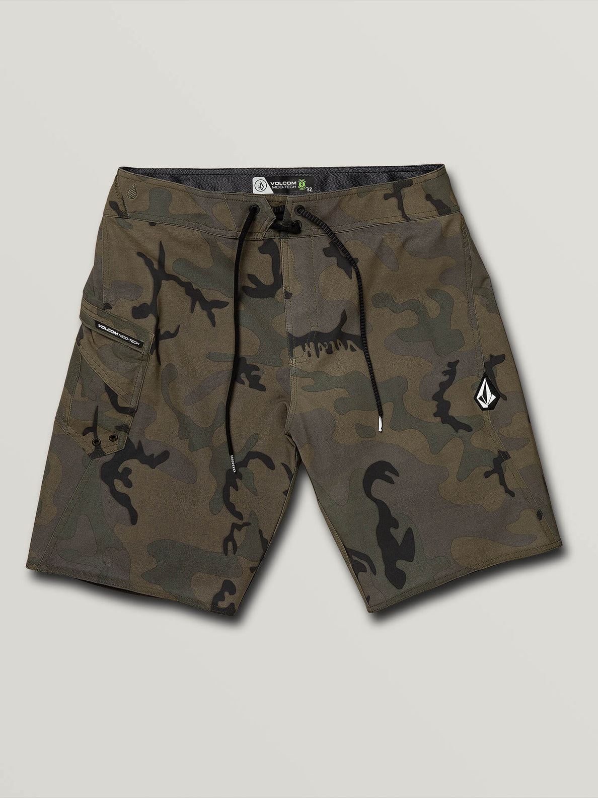 Lido Solid Mod Trunks - Camouflage (A0811926_CAM) [F]