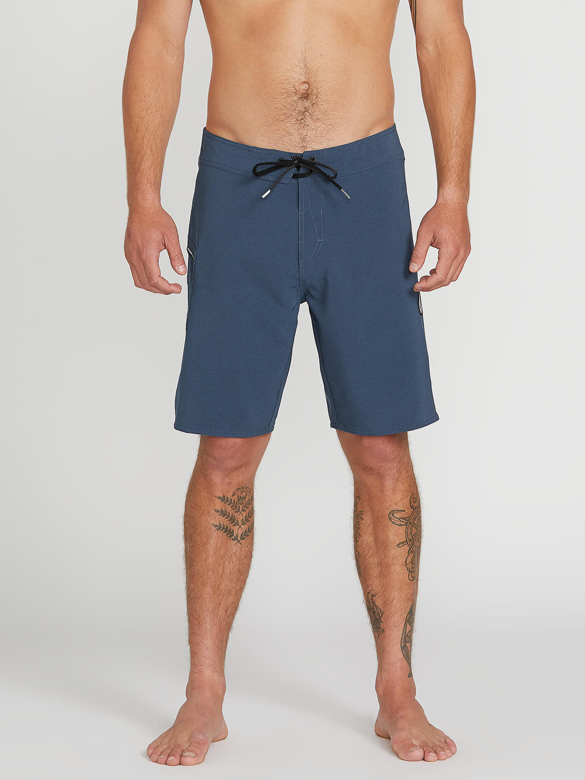 Lido Solid Mod Trunks - Smokey Blue (A0811926_SMB) [1]