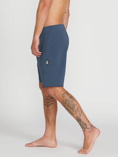 Lido Solid Mod Trunks - Smokey Blue (A0811926_SMB) [3]