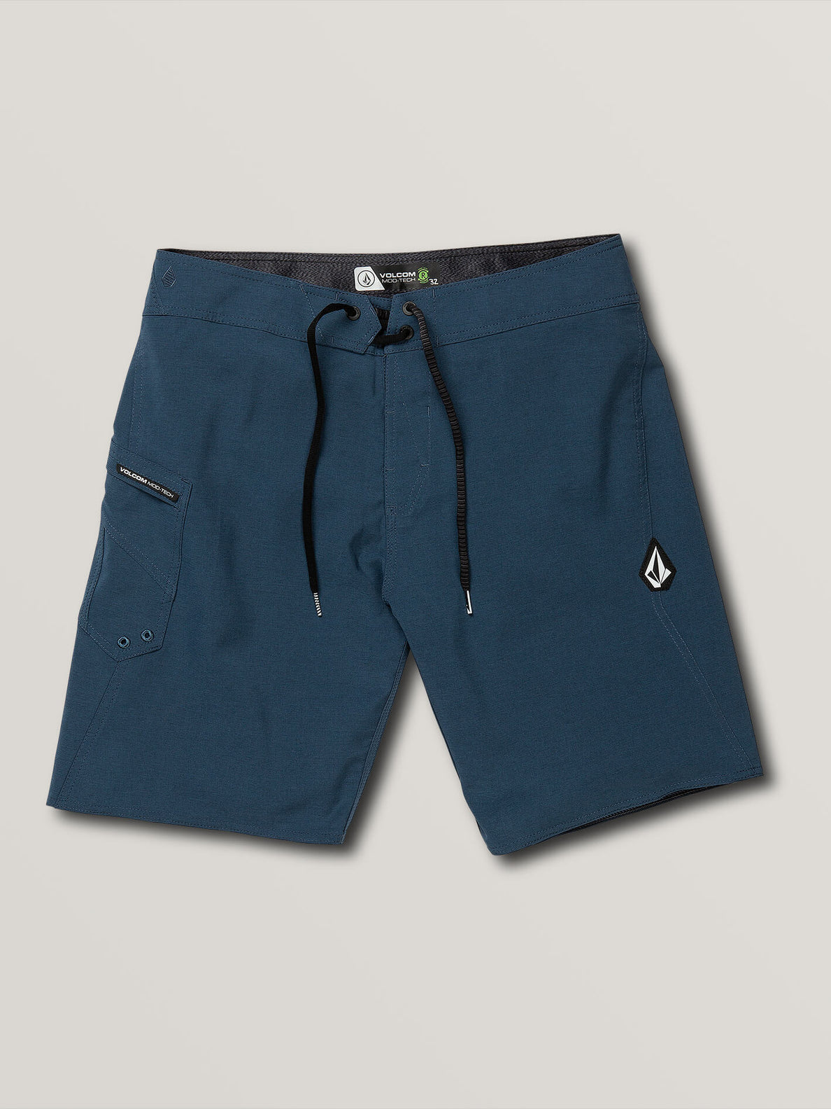 Lido Solid Mod Trunks - Smokey Blue (A0811926_SMB) [F]