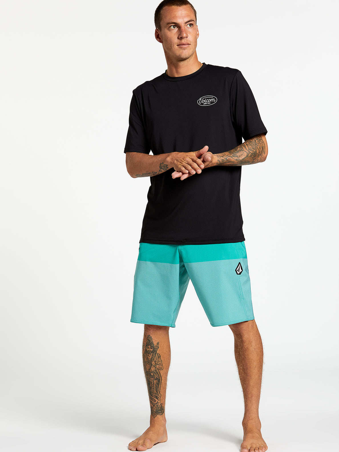 Lido Heather Mod-Tech Trunks - Mysto Green