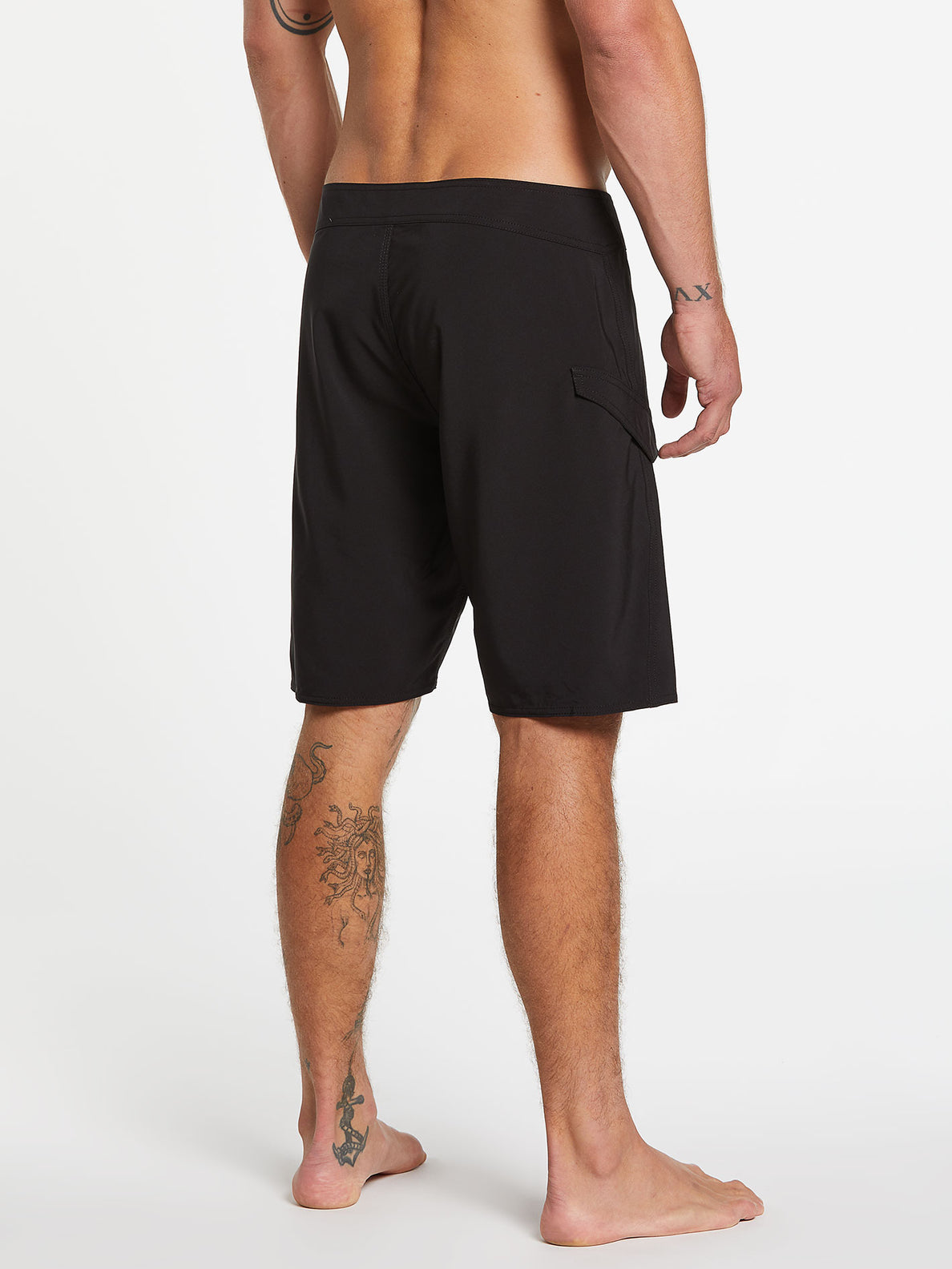 Lido Solid Mod-Trunks - Black (A0812021_BLK) [2]
