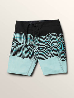 Lido Vibes Mod Boardshorts In Stealth, Second Alternate View
