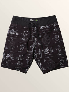 Aaron Glasson Pangeaseed Boardshorts In Black, Alternate View