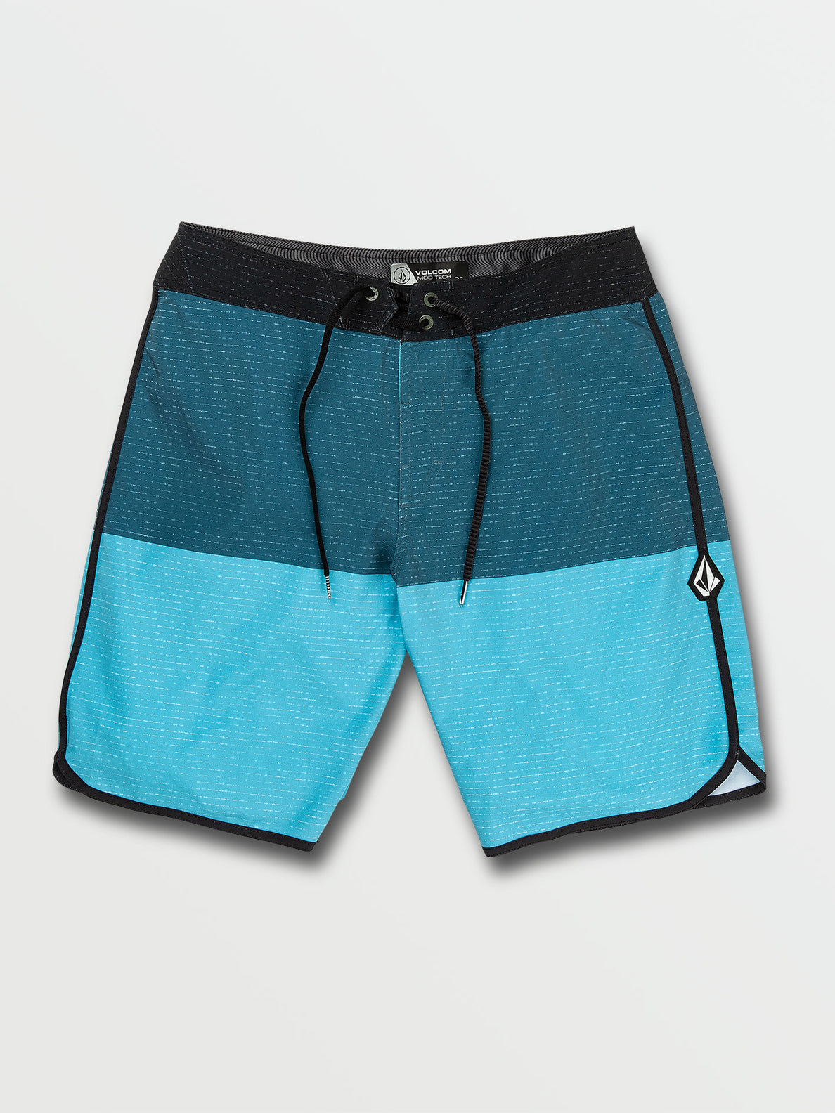 Lido Heather Scallop Mod-Tech Trunks - Rincon Blue (A0822015_RNC) [F]