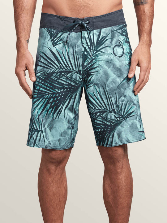 Toner Mod Boardshorts In Arctic Blue, Front View