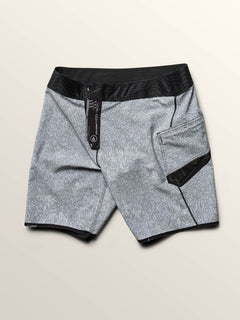 Speak To You Mod Boardshorts In Black, Fifth Alternate View