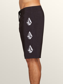 Deadly Stones Mod Boardshorts In Black, Alternate View
