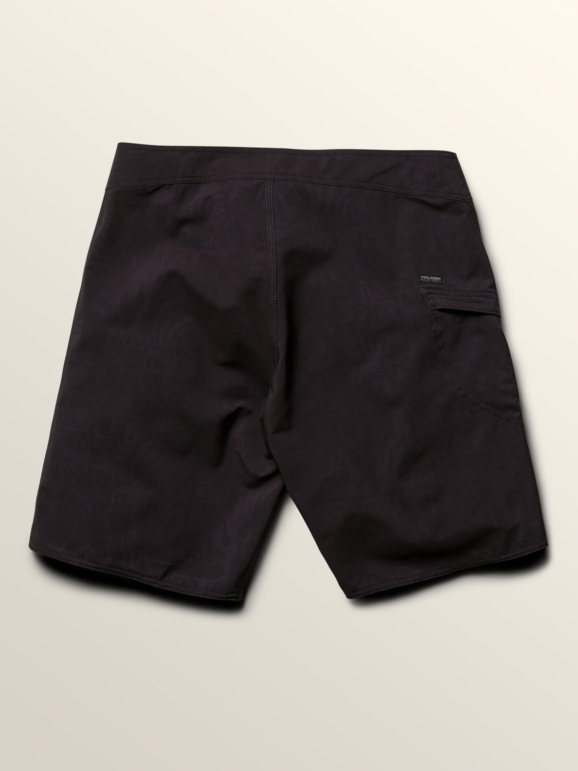 Deadly Stones Mod Boardshorts In Black, Fourth Alternate View
