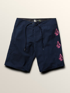Deadly Stones Mod Boardshorts In Melindigo, Third Alternate View