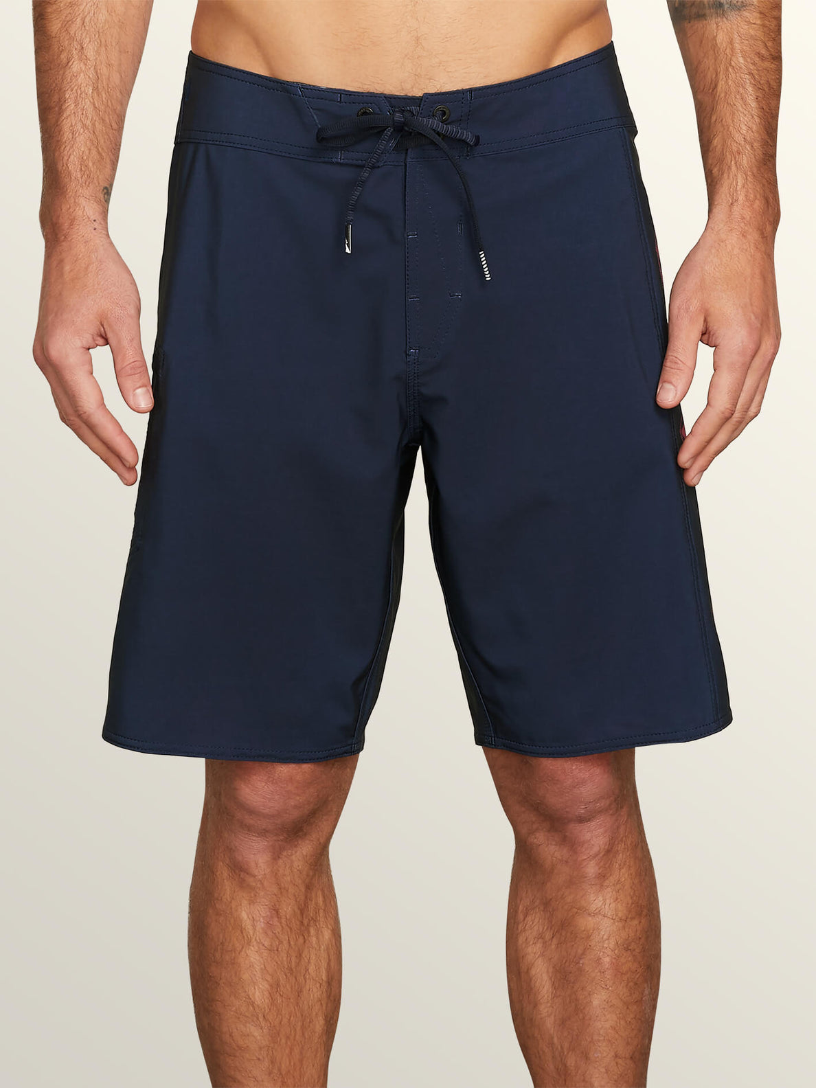 Deadly Stones Mod Boardshorts In Melindigo, Front View