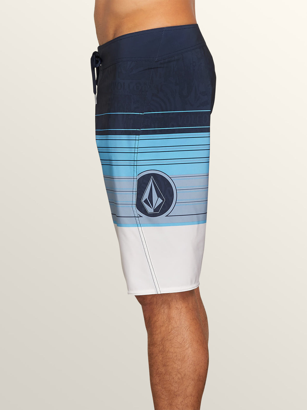 Lido Liney Mod Boardshorts In Melindigo, Alternate View