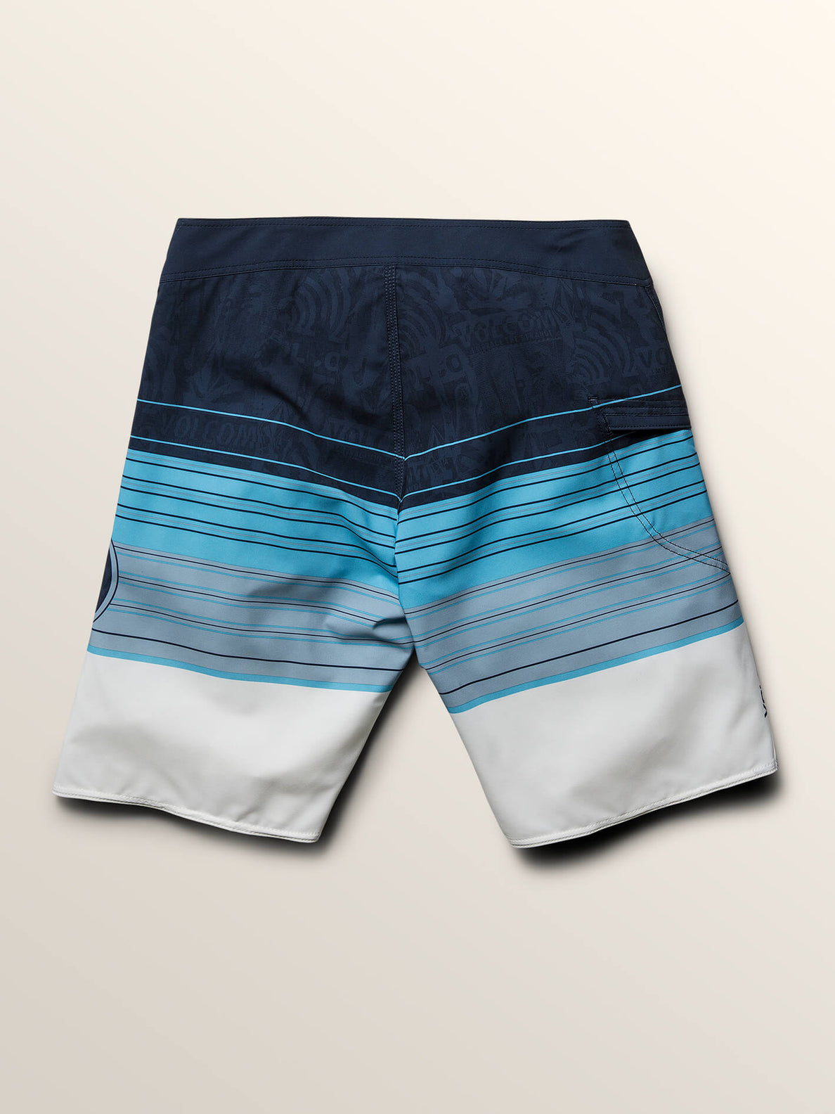 Lido Liney Mod Boardshorts In Melindigo, Fourth Alternate View