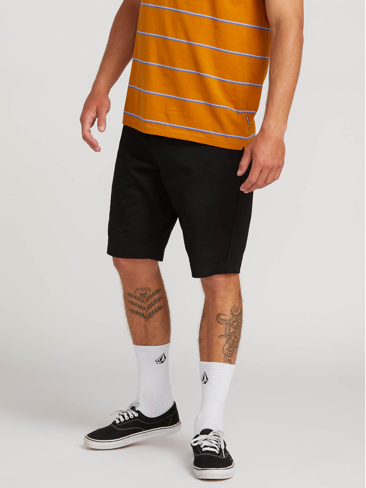 Frickin Modern Stretch Shorts - Black (A0911601_BLK) [1]