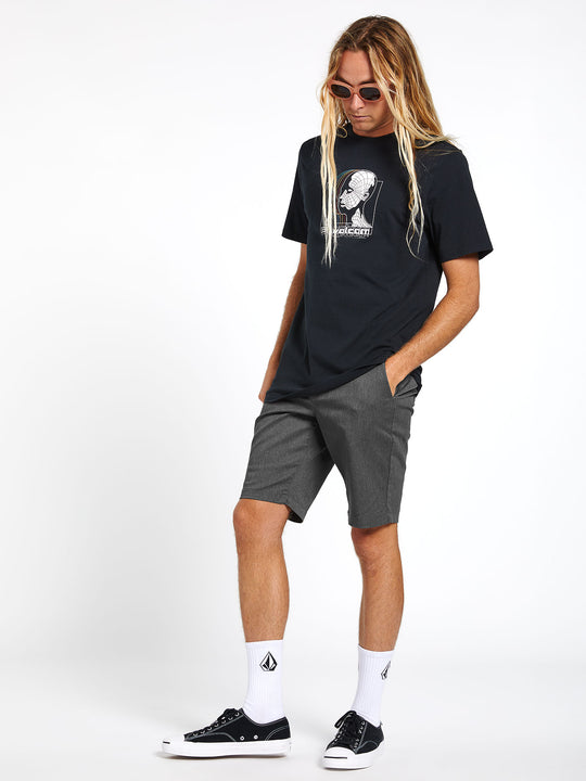 Frickin Modern Stretch Shorts - Charcoal Heather (A0911601_CHH) [11]