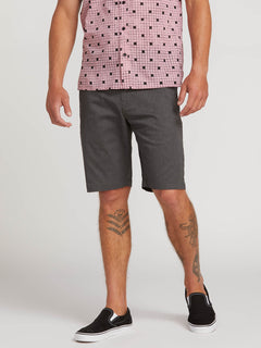 Frickin Modern Stretch Shorts - Charcoal Heather (A0911601_CHH) [1]