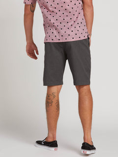 Frickin Modern Stretch Shorts - Charcoal Heather (A0911601_CHH) [2]