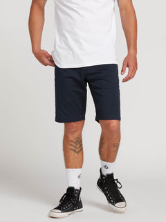 Frickin Modern Stretch Shorts - Dark Navy (A0911601_DNV) [1]