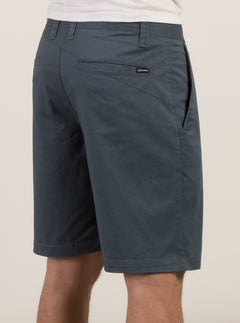 Frickin Lightweight Shorts In Airforce Blue, Back View