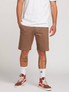Frickin Lightweight Shorts In Mushroom, Front View