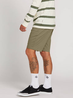 Frickin Lightweight Shorts In Squadron Green, Alternate View