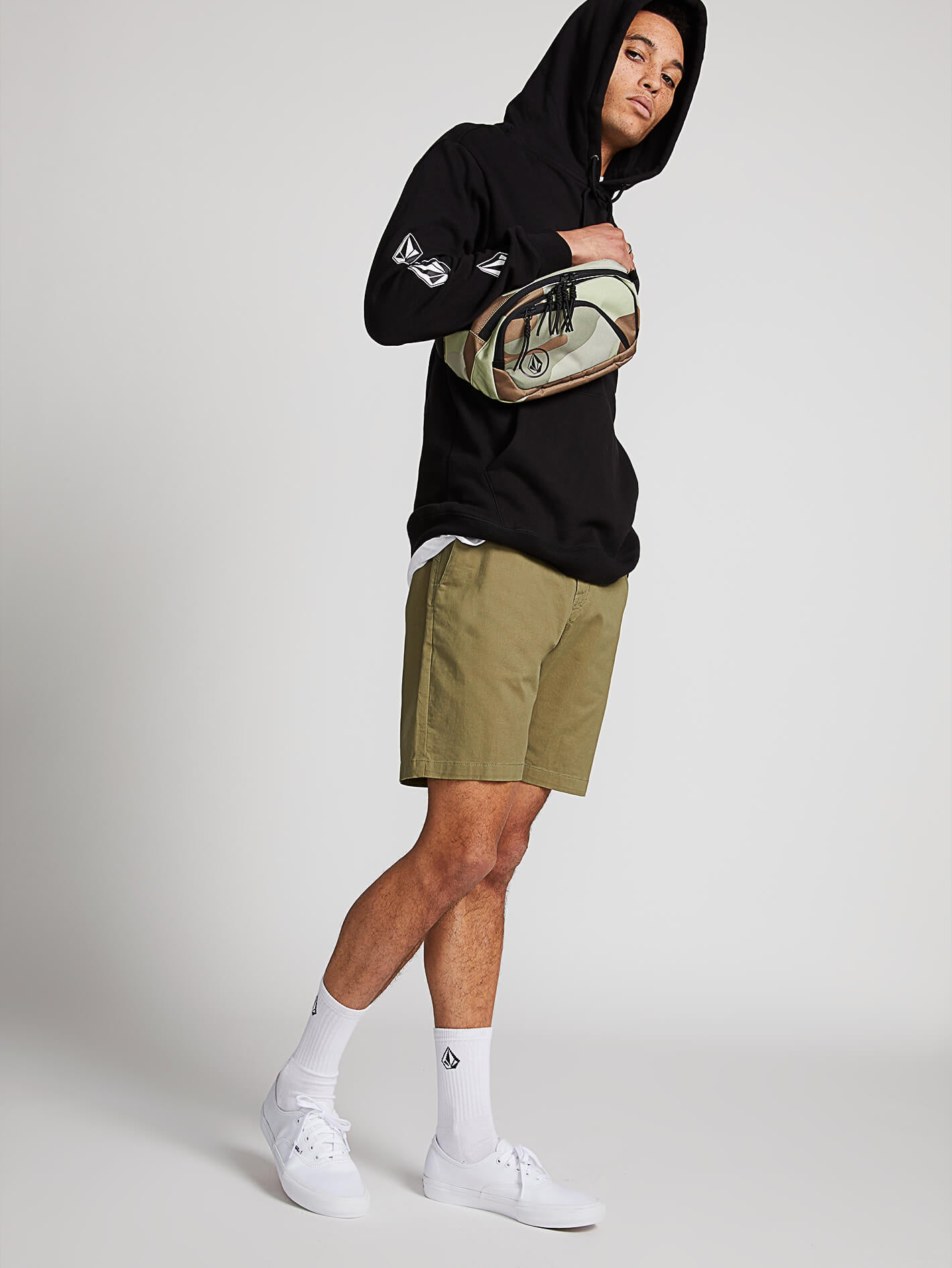 7d0dc9cbc7ff Frickin Lightweight Shorts - Squadron Green in SQUADRON GREEN - Alternative  View
