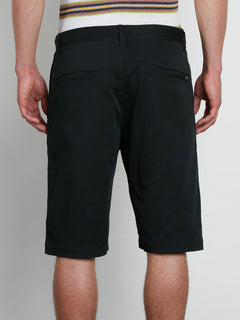 V2monty Stretch Shorts - Black