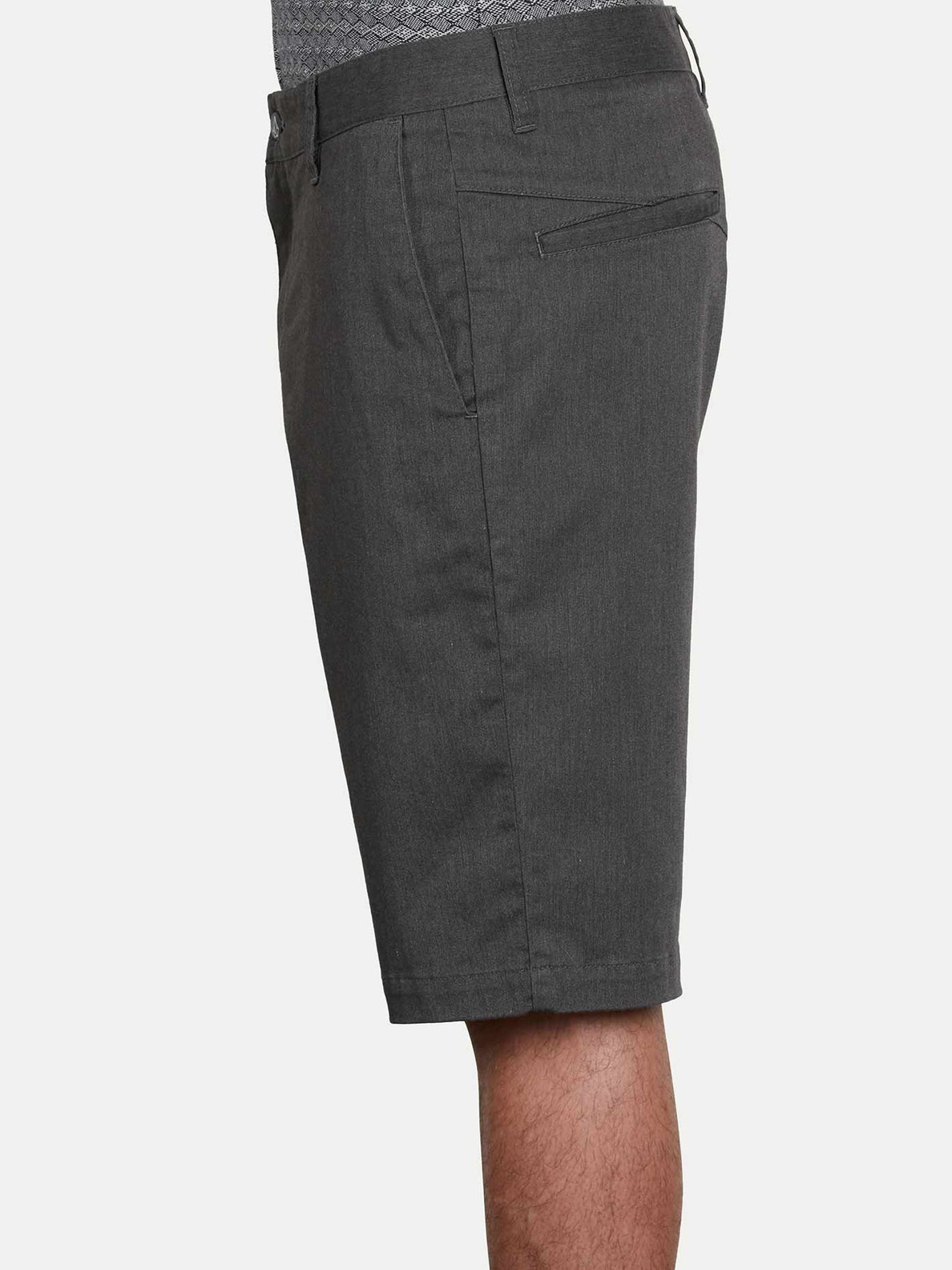Vmonty Stretch Shorts - Charcoal Heather