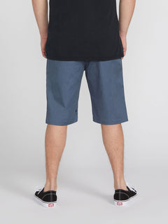 Vmonty Stretch Shorts - Heather Blue