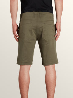 Vsm Prowler Shorts In Snow Military, Back View