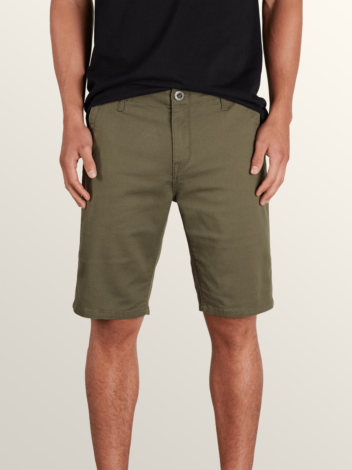 Vsm Prowler Shorts In Snow Military, Front View