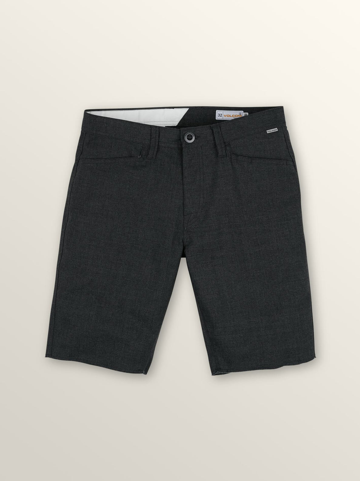 Gritter Thrifter Shorts In Gunmetal Grey, Second Alternate View